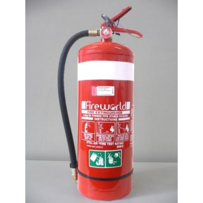 Fire Extinguisher 9kg Be Dry Chemical Work In It
