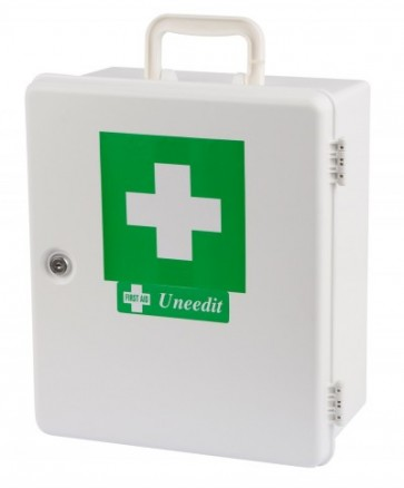 First Aid Kit Code C Small Workplace Plus Wallmount Plastic Case
