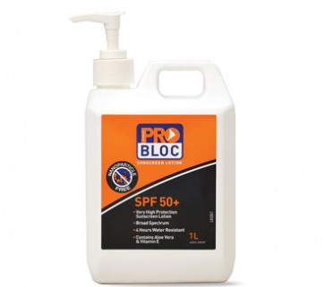 ProChoice SPF50+ ProBloc Sunscreen 1L Pump