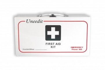 First Aid Kit Code C Workplace Plus Wallmount Metal Case