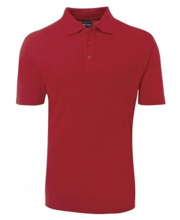 JB's wear Pocket Polo - Red