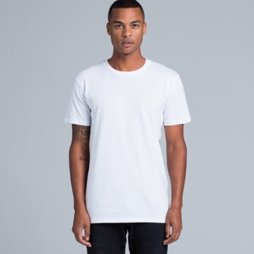 AS Colour Men's Paper Tee - White Model Front
