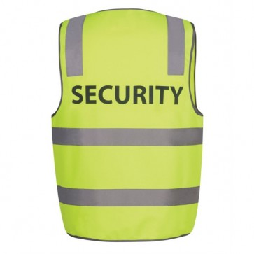 YELLOW SECURITY BACK