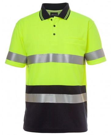 JBs Wear HV Day Night SS Traditional Polo Polo Shirt