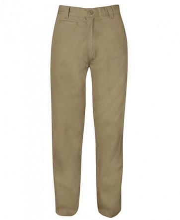 6MT Mercerised Work Trouser - Khaki