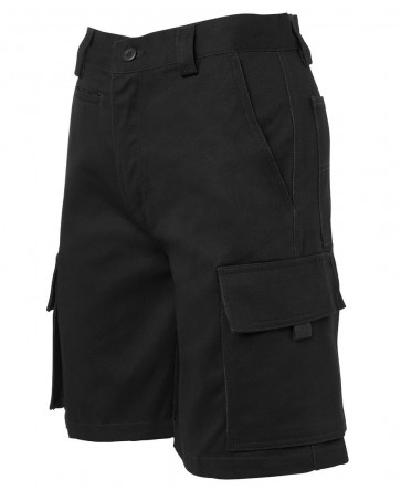 JB's Wear Ladies Multi Pocket Short - Black