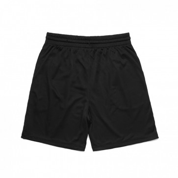 AS Colour Court Shorts - Black Front