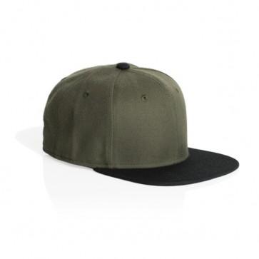 AS Colour Frack Snap Back Cap - Army Black