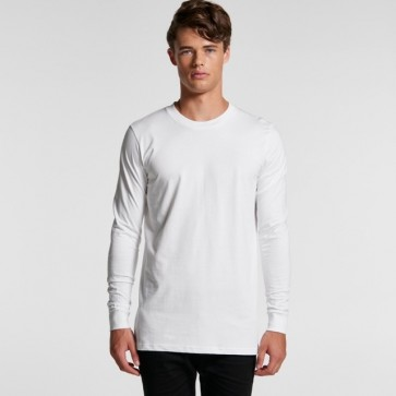 AS Colour Men's Base Tee - White Model Front