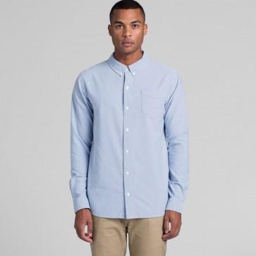 AS Colour Men's Oxford Shirt - Light Blue