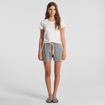 AS Colour Perry Track Shorts - Steel Marle