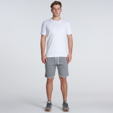 AS Colour Track Shorts - Steel Marle Model