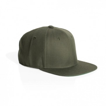 AS Colour Trim Snap Back Cap - Army