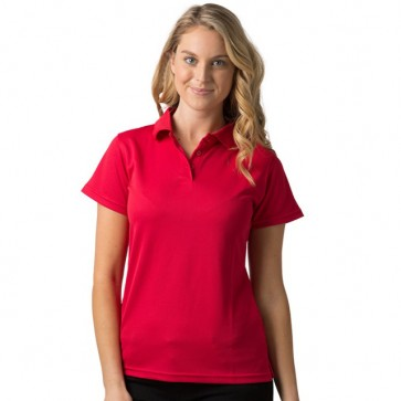 BeSeen pique knit polo The Piranha Red