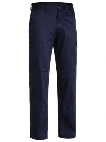 Bisley Cool Light Weight Men's Drill Pant - Front
