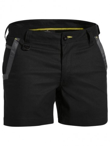 Bisley Flex & Move™ Short Short - Black Front