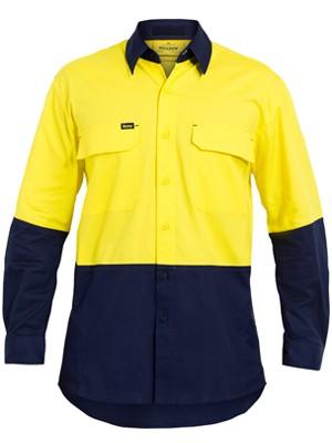 Bisley Hi Vis X Airflow™ Ripstop Shirt 150gsm