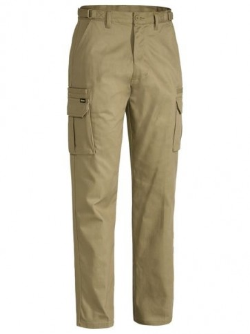 Bisley Original 8 Pocket Mens Cargo Pant - Khaki Front