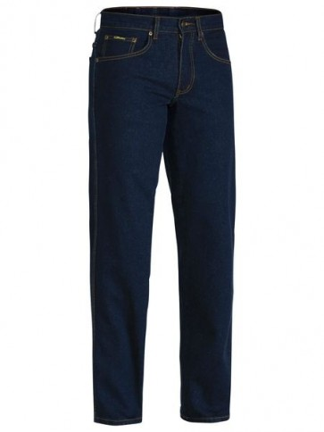 Bisley Rough Rider Denim Stretch Jeans - Front