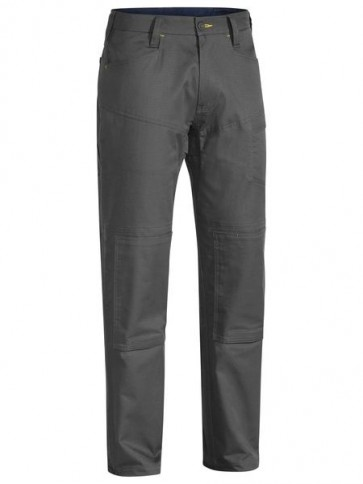 Bisley X Airflow Ripstop Vented Work Pant - Charcoal Front