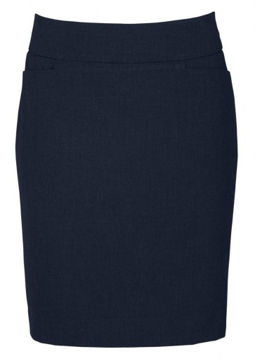 Biz Collection Ladies Classic Knee Length Skirt