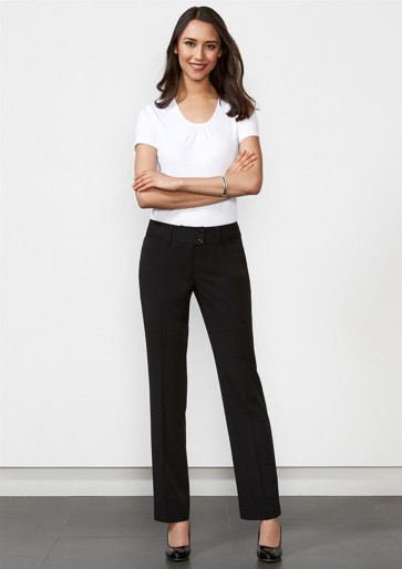 Biz Collection Ladies Kate Perfect Pant - Black Model