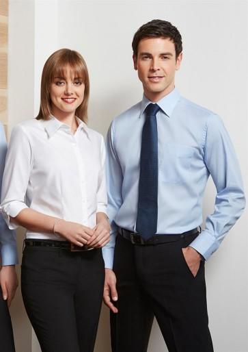 Biz Collection Ladies Luxe 3/4 Sleeve Shirt - Models