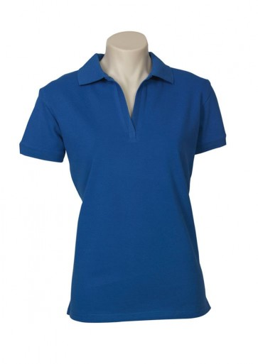 Biz Collection Ladies Oceana Polo - French Blue