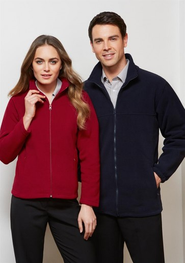 Biz Collection Ladies Plain Microfleece Jacket