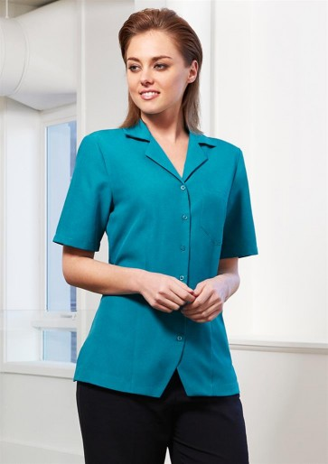 Biz Collection Ladies Plain Oasis Overblouse - Model