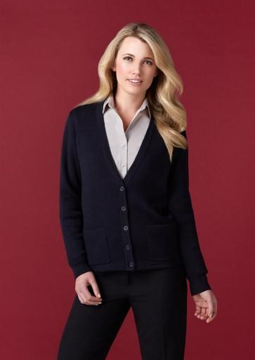 Biz Collection Ladies Woolmix Cardigan - Model