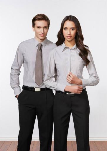 Biz Collection Mens Berlin Long Sleeve Shirt Model