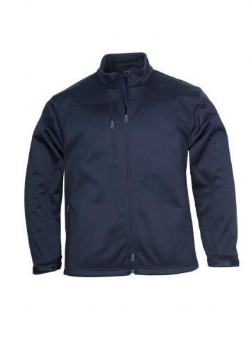 Biz Collection Mens BIZ TECH™ Soft Shell Jacket - Navy