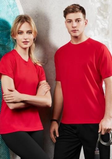 Biz Collection Men's Sprint Tee - Models Red