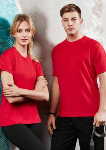 Biz Collection Sprint Tee - Models Red
