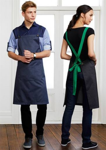 Biz Collection Unisex Urban BIB Apron - Models