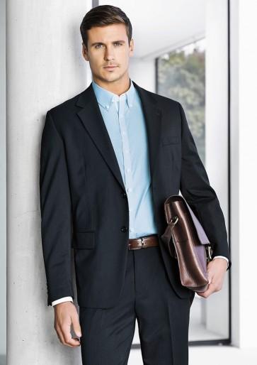 Biz Coporate Mens 2 Button Jacket - Model