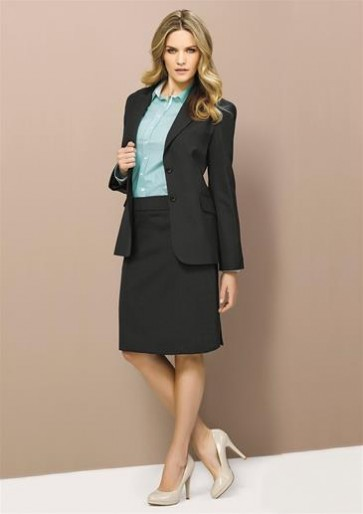 Biz Corporates Ladies Longline Jacket - Model