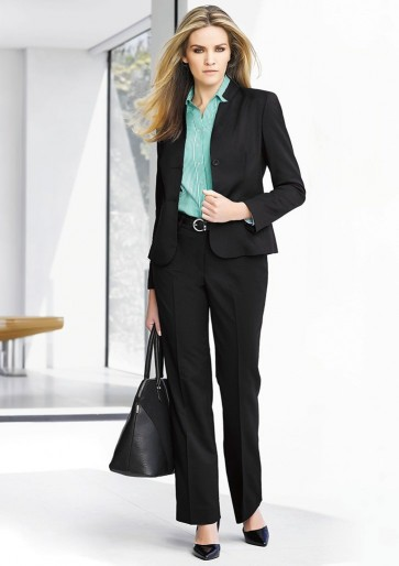 "Biz Corporates Ladies Relax Fit Pant ""Cool Stretch"" Model"