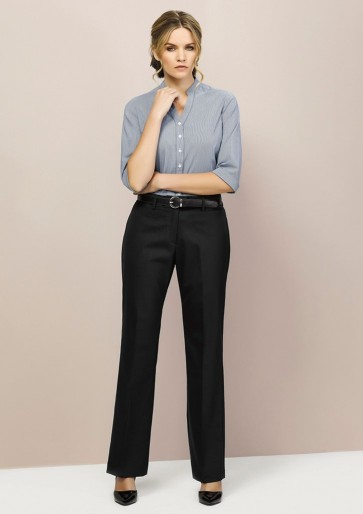 "Biz Corporates Ladies Relaxed Pant ""Wool Stretch"" Model"