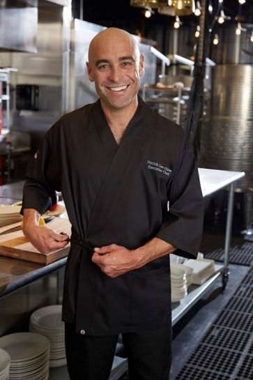Chef Works Black Sushi Server Jacket
