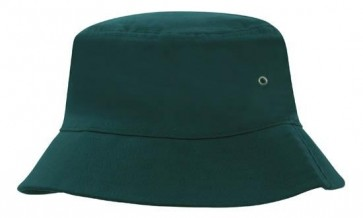 Brushed Sports Twill Bucket Hat - Bottle