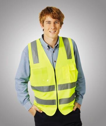 Blue Whale Hi Vis Safety Day/Night Vest H Pattern Model