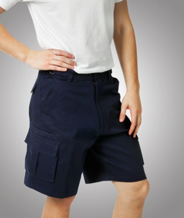 Blue Whale Heavy Drill Cargo Shorts - Model