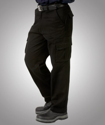 Blue Whale Heavy Drill Cargo Trousers - Model