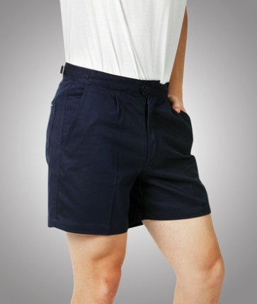 Blue Whale Heavy Drill Shorts - Navy Model