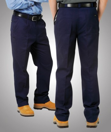 Blue Whale Heavy Drill Budget Trouser - Navy Model