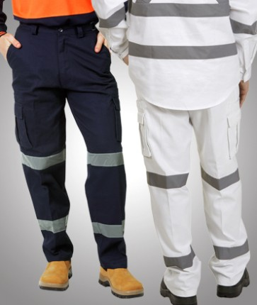 Blue Whale Hi Vis Cargo Trousers with REF Tape