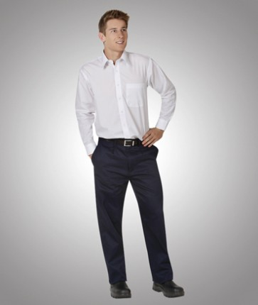 Blue Whale Light Weight Cargo Navy Trousers 190gsm - Model