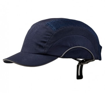 Bump Cap - Short Peak Navy